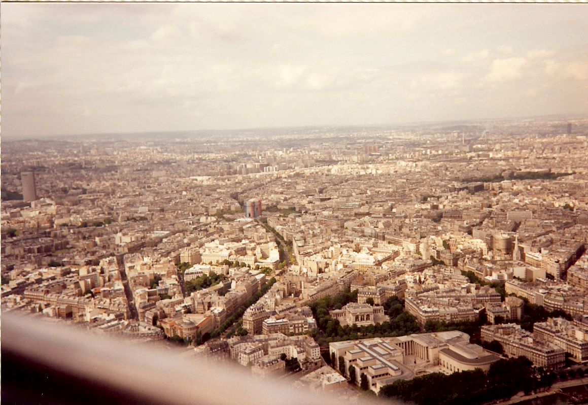 My Camera's View from the Eiffel Tower
